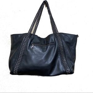Steve Madden Vegan Leather Tote Bag